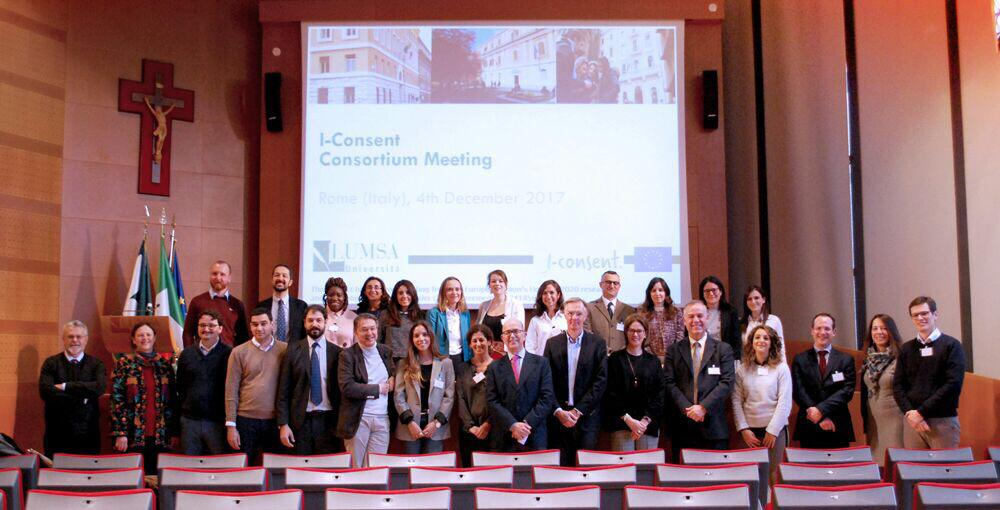 I-Consent partners in Rome, a meeting to remember !