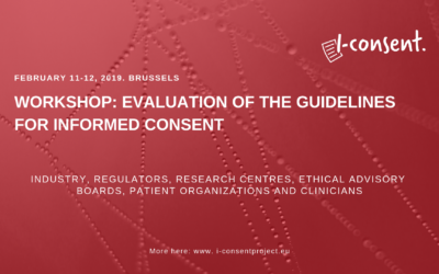 Workshop: A step closer to improving Informed Consent