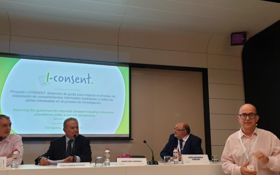 i-CONSENT brings project conclusions before the Spanish Research Ethic Committees