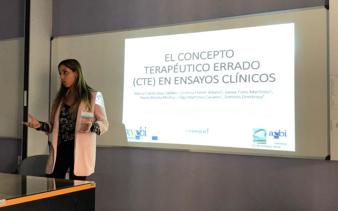 i-CONSENT at the 25th Congress of Spanish Association of Bioethics