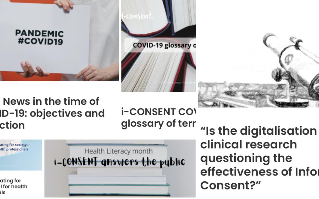 Top 5 iCONSENT posts 2020